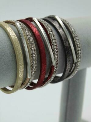 Sparkly Bar Bracelet