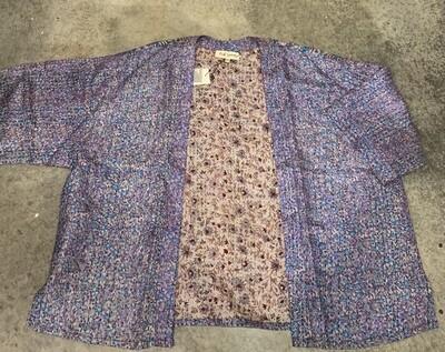 Silk Kantha Kimono