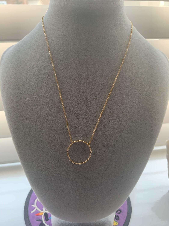 Hola hoop Necklace