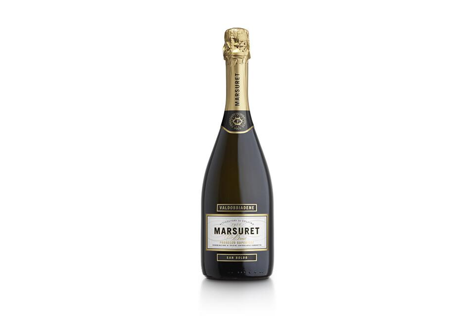 Prosecco Valdobbiadene Brut 0,75 cl - Cantine Marsuret