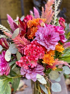 Medium Autumn Arrangement:  Wednesday, 10/21