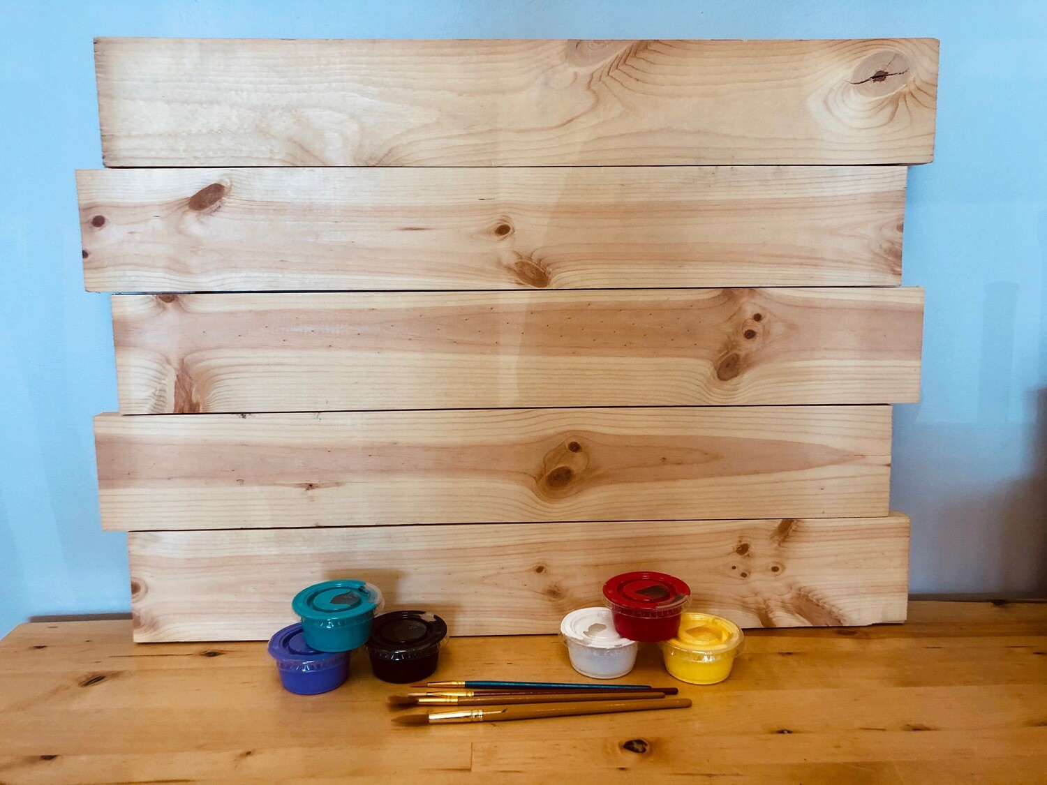"Take Home 18"" x 24"" Wooden Pallet Board  - Pick up Curbside"