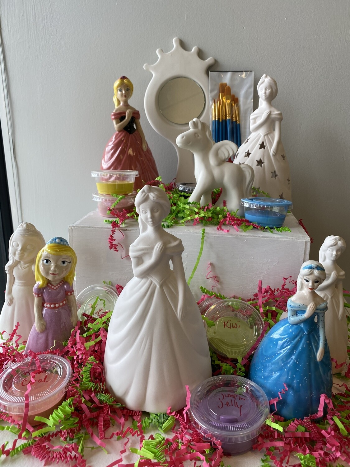 Take Home Princess Party Kit - Pick up Curbside or Delivery