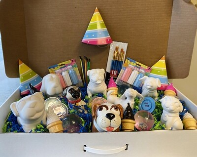 Take Home Puppy Party Kit - Pick up Curbside or Delivery