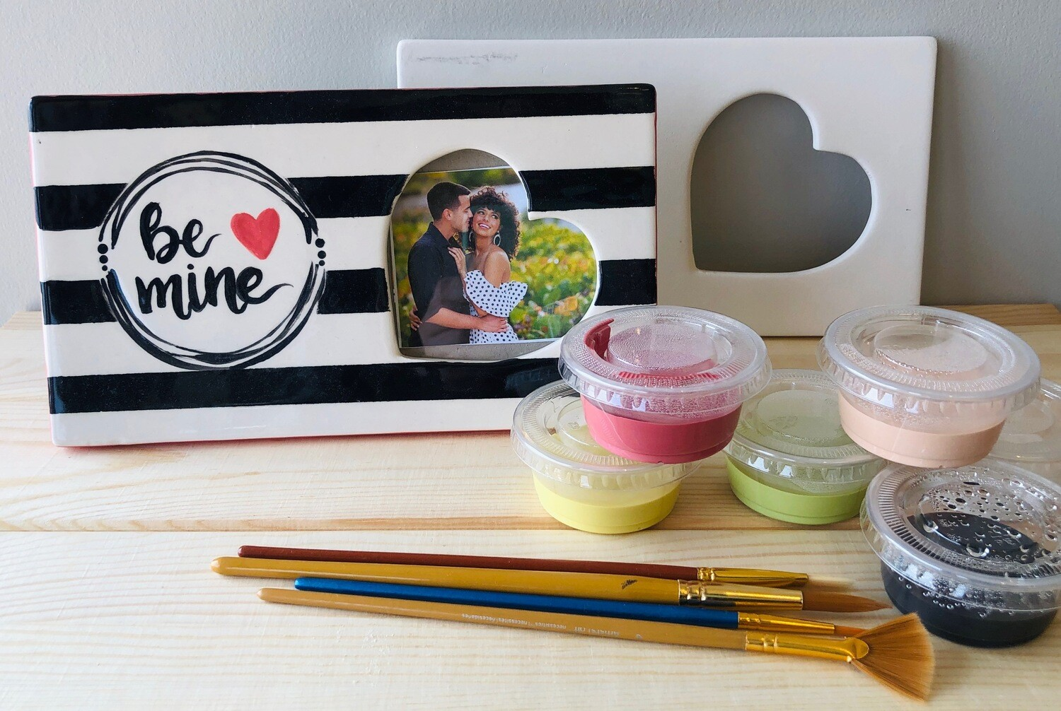 Take Home Rectangle Heart Message Frame - Pick up Curbside