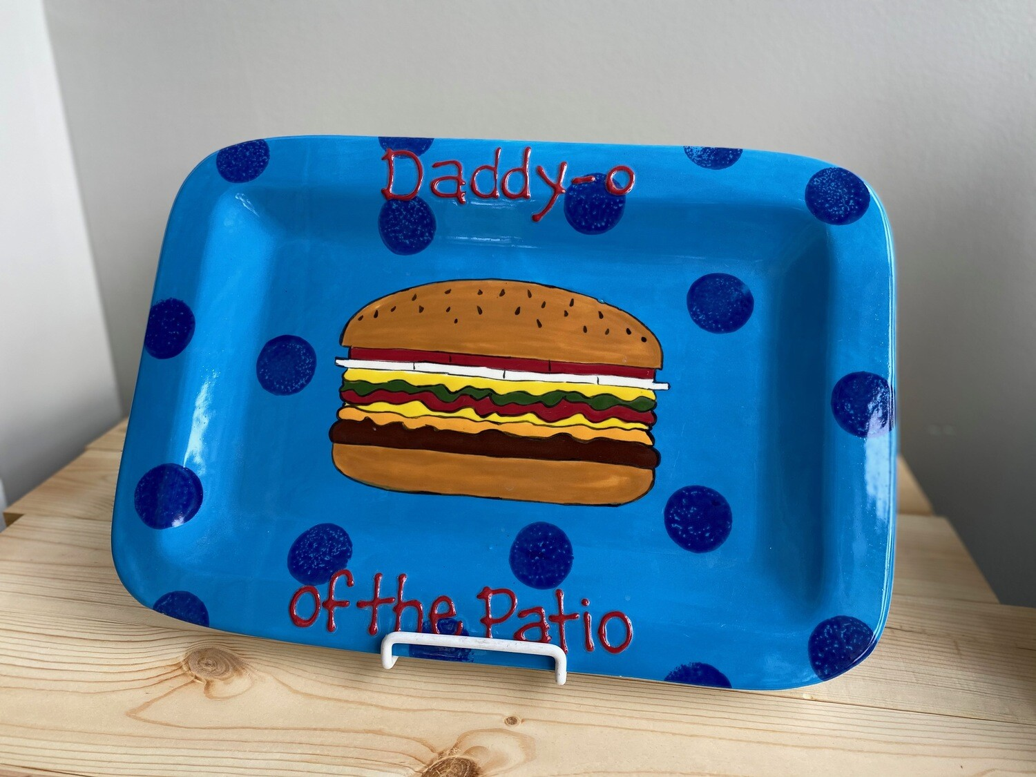 Daddy-o of the Patio Burger Platter- Sample Sale