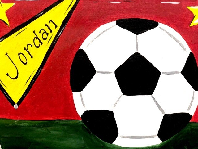 Camp in a Bag! Soccer Ball Canvas  - Pick up Curbside