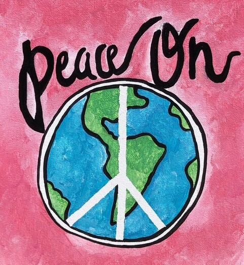 Camp in a Bag! Peace on Earth Canvas  - Pick up Curbside