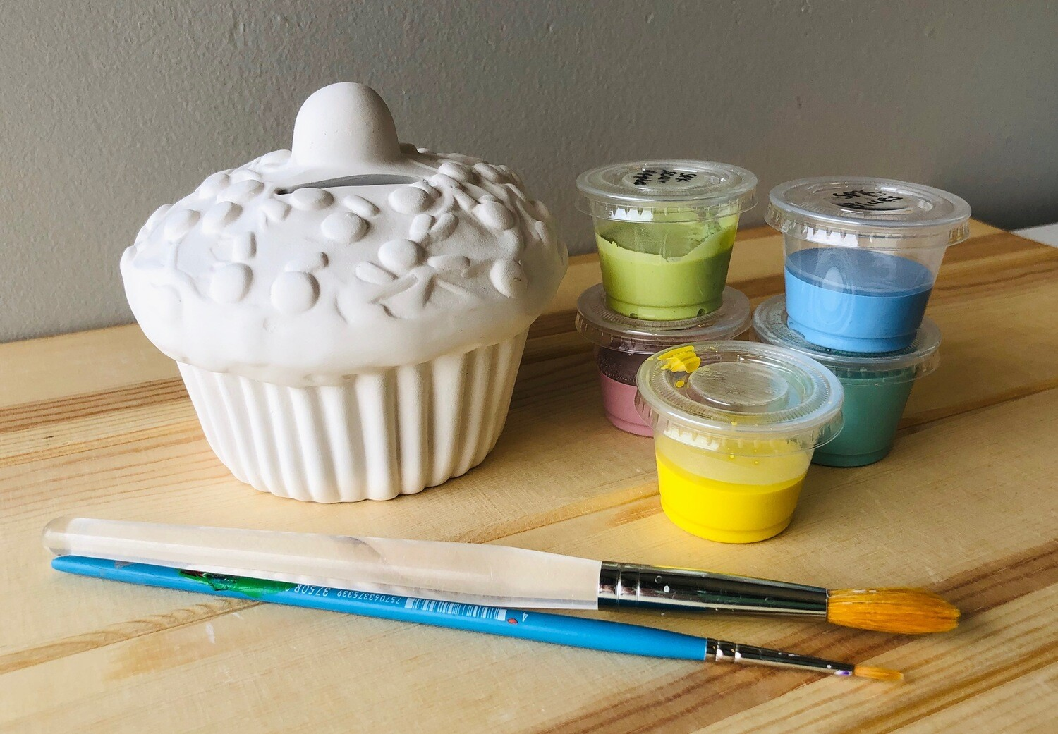 Take Home Cupcake Bank with Glazes - Pick up Curbside