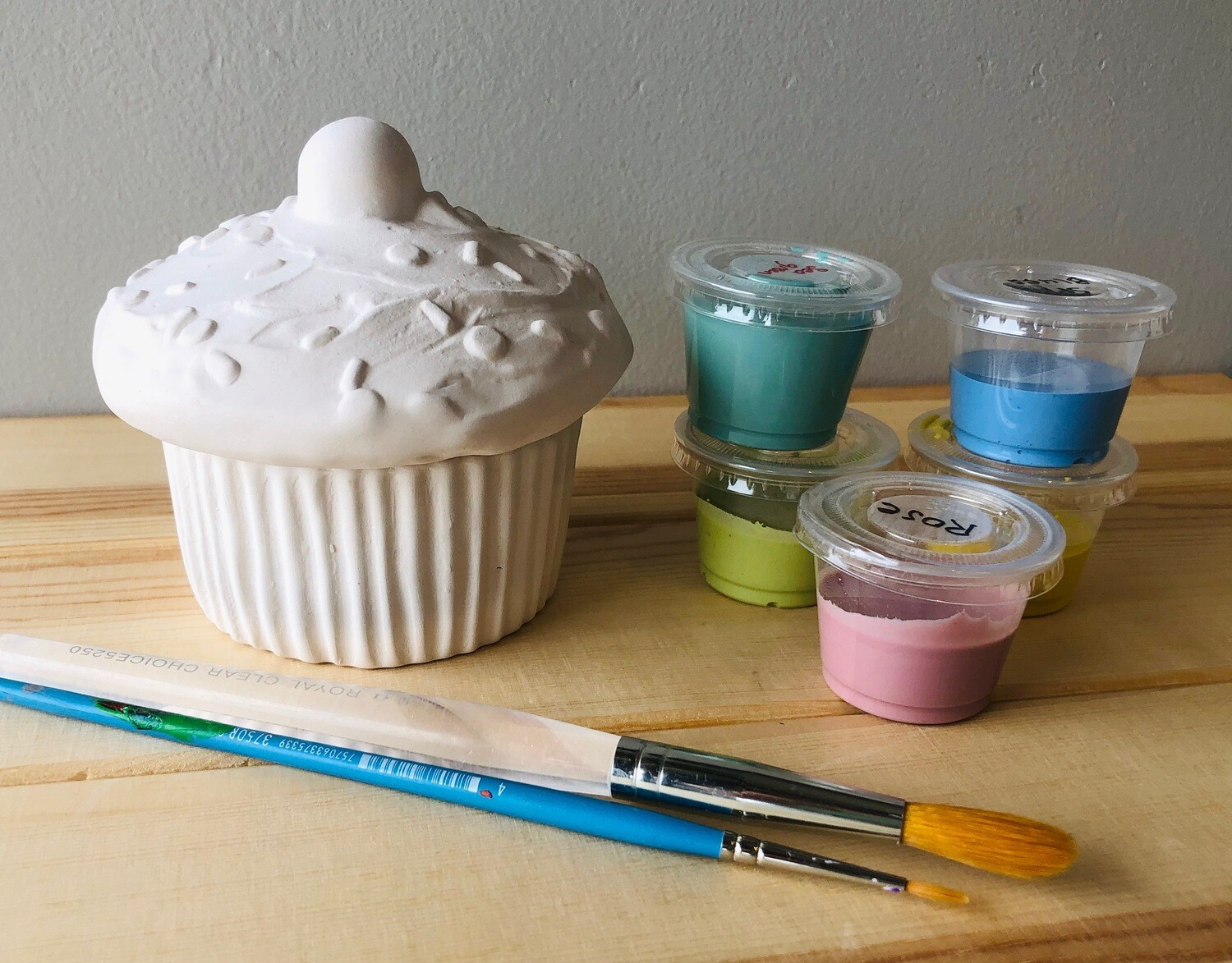 Take Home Cupcake Box with Glazes - Pick up Curbside