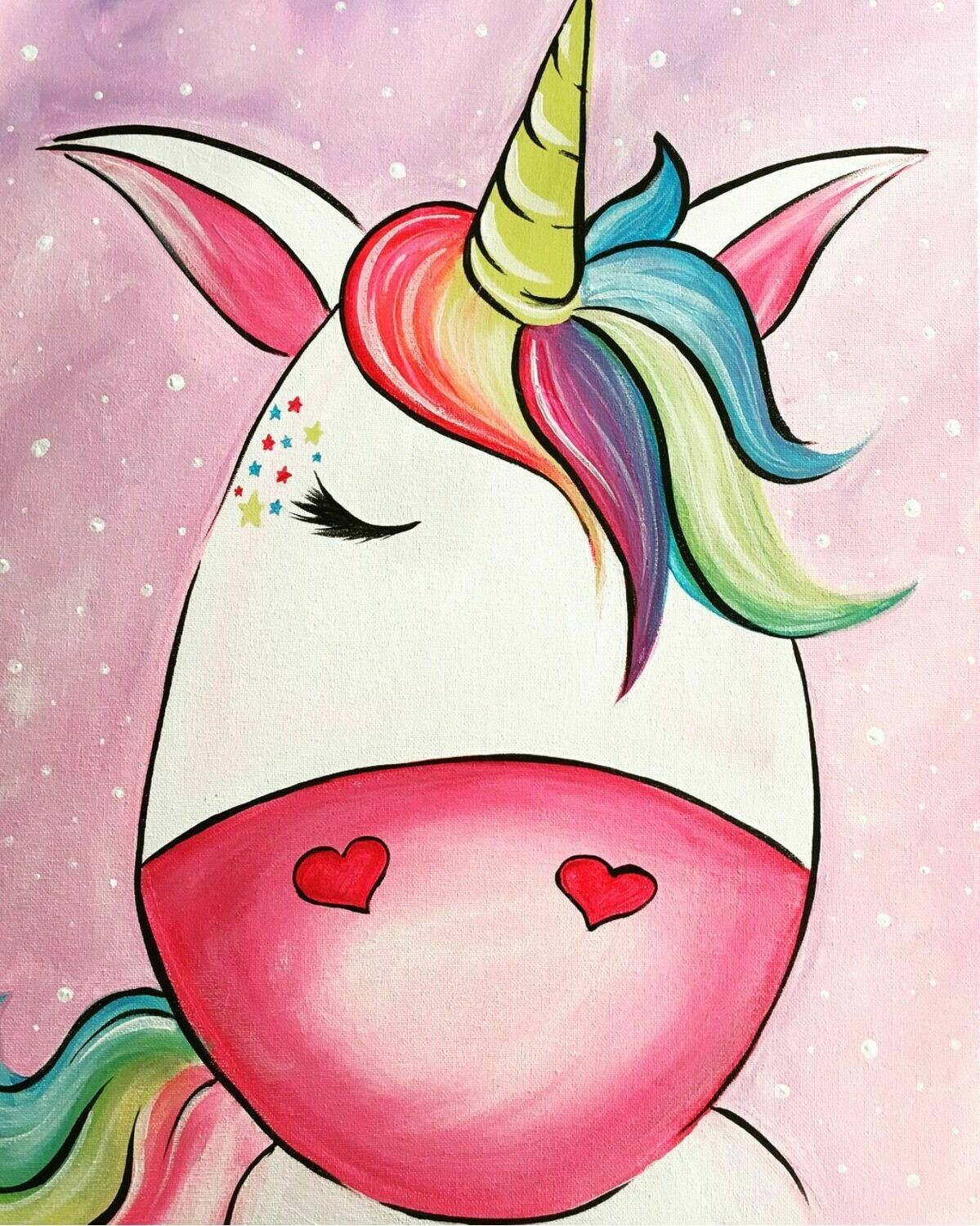 Camp in a Bag! Unicorn Canvas  - Pick up Curbside