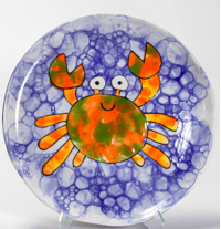 Camp in a Bag! Bubble Crab Plate - Pick up Curbside