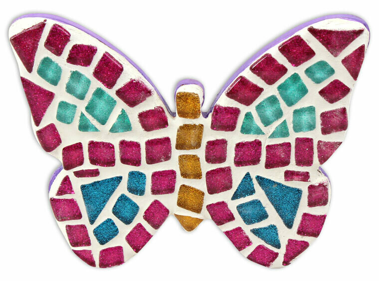 "Take Home 6"" Butterfly Mosaic Kit - Pick up Curbside"