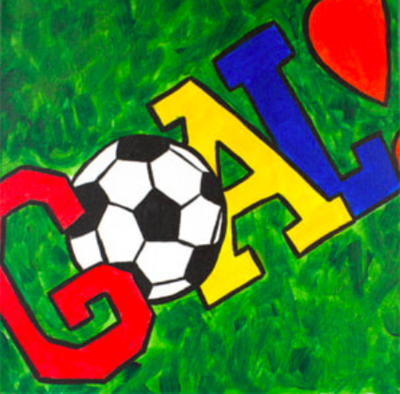 Camp in a Bag! GOAL Soccer Canvas  - Pick up Curbside
