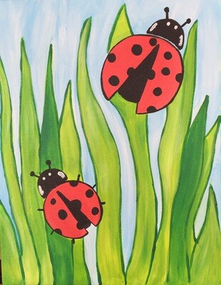 Camp in a Bag! Ladybug Canvas  - Pick up Curbside
