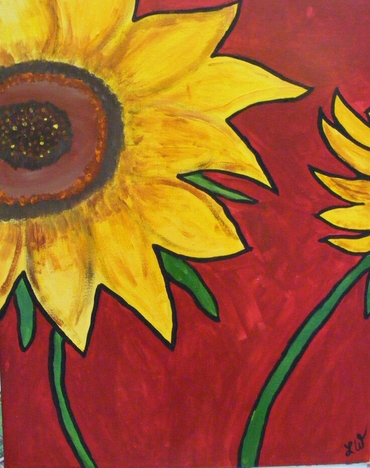 Camp in a Bag! Sunflower Canvas  - Pick up Curbside