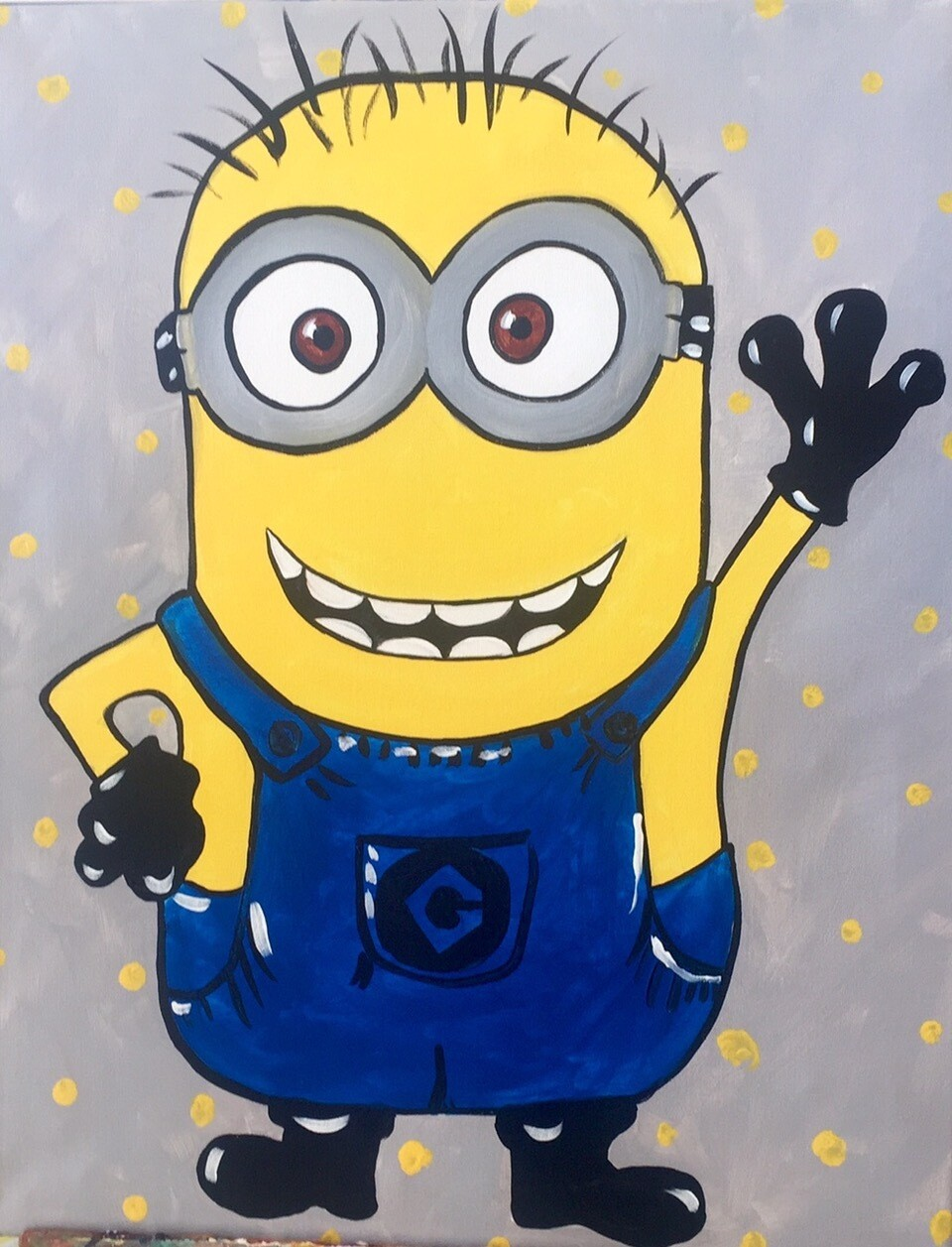 Camp in a Bag! Minion Canvas  - Pick up Curbside