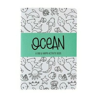Rad + Happy Ocean Activity Book