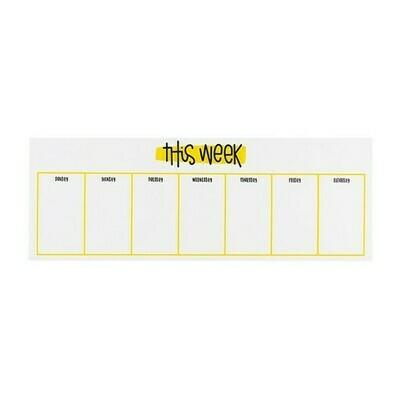Rad + Happy Weekly Notepad
