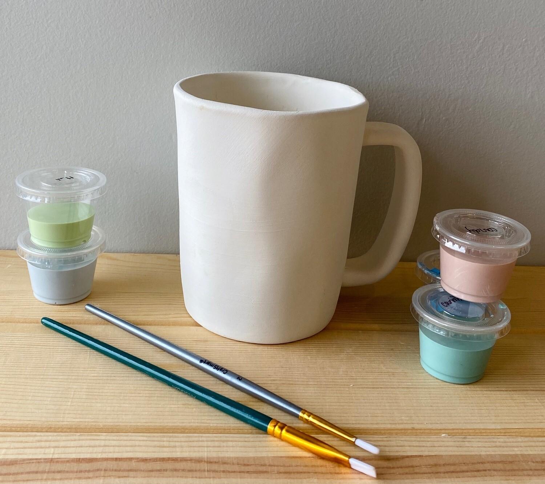 Take Home Simply Cottage Mug with Glazes - Pick up Curbside