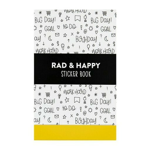 Rad + Happy Planner Sticker Book