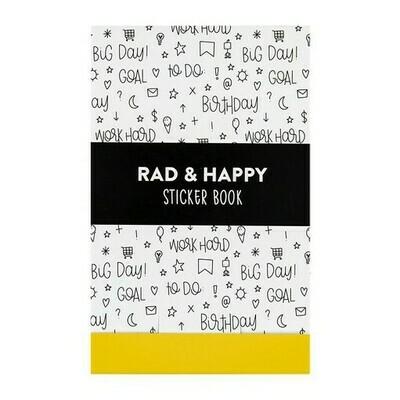 Rad + Happy Planner Sticker Book