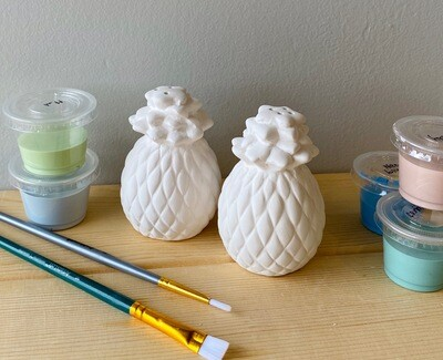 Take Home Pineapple Salt and Pepper with Glazes - Pick up Curbside