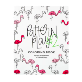 Rad + Happy Pattern Play Coloring Book