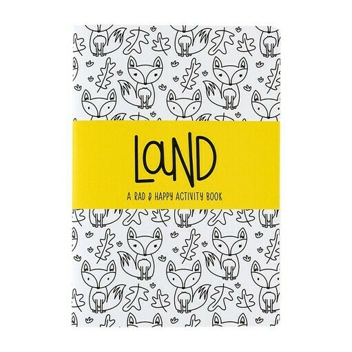 Rad + Happy Land Activity Book