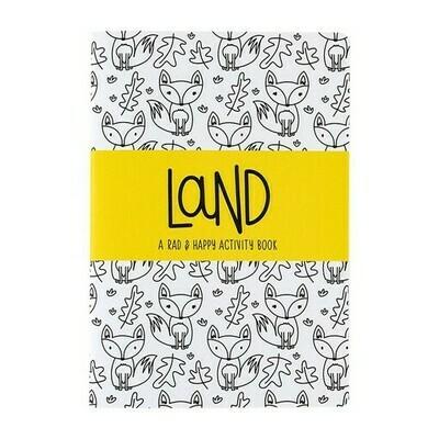 Rad + Happy Land Activity Book