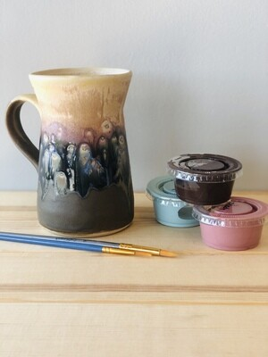 Take Home Stoneware Galaxy Mug- Pick up Curbside