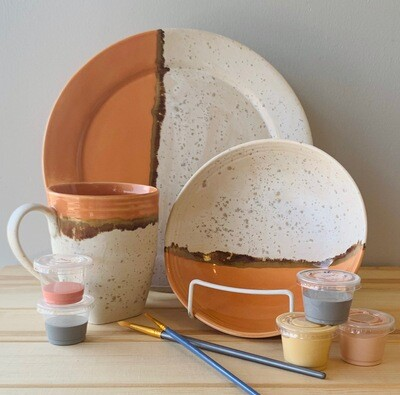 Take Home Stoneware Place Setting- Pick up Curbside