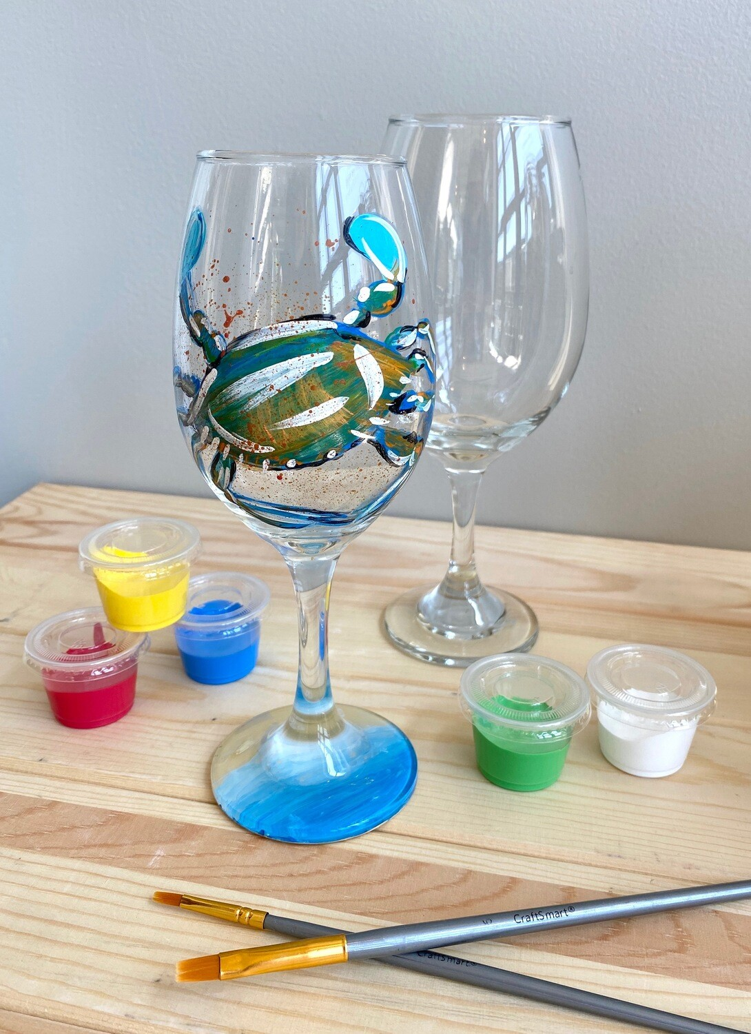 Take Home Wine Glass Party - Pick up Curbside