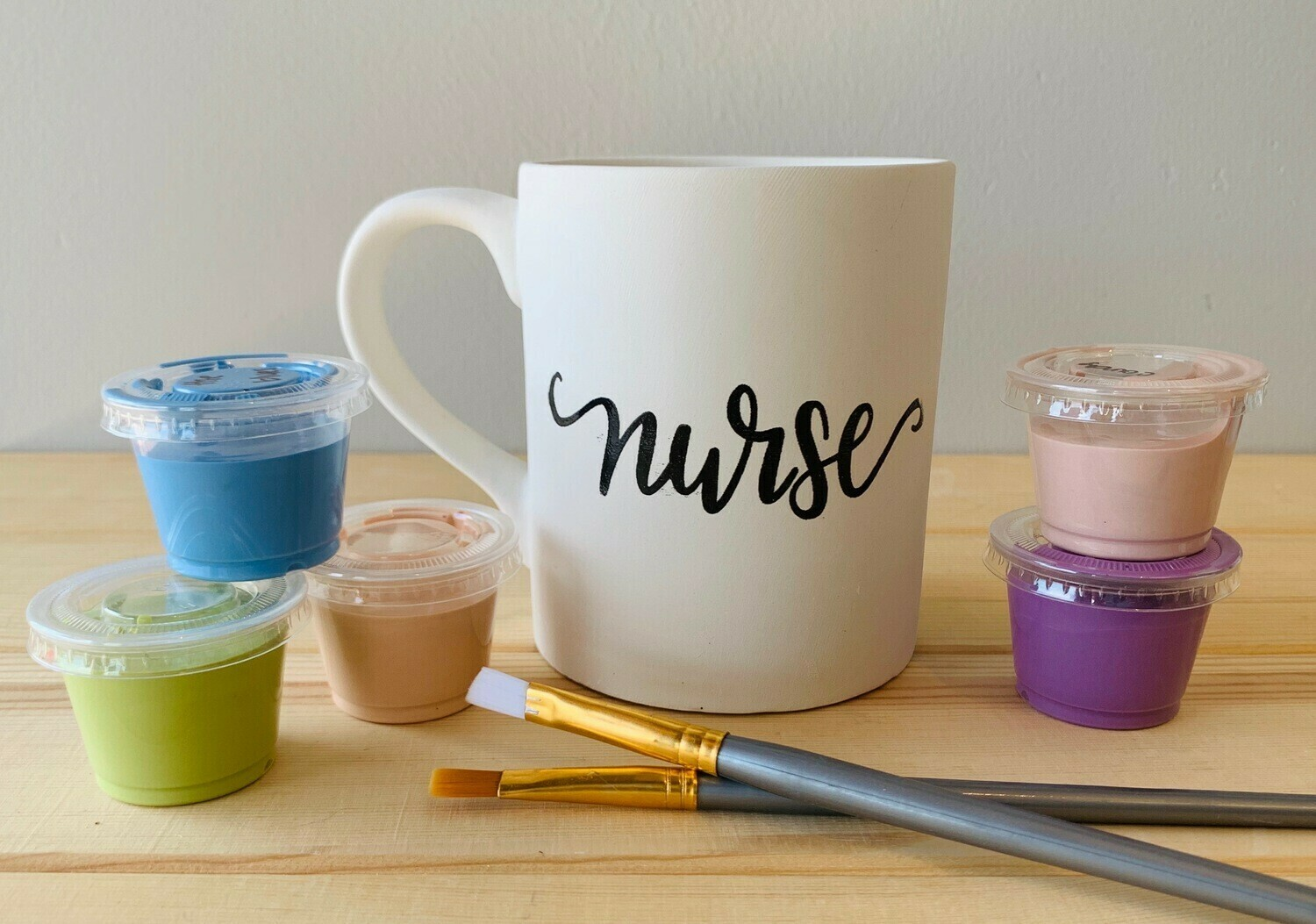 Take Home Coloring Book 12 oz Nurse Definition Mug with Glazes - Pick up Curbside