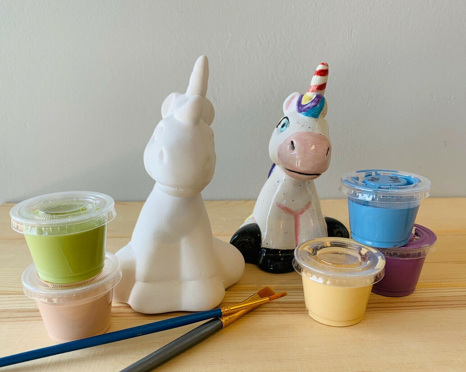 Take Home Unicorn Party Animal with glazes - Pick up Curbside
