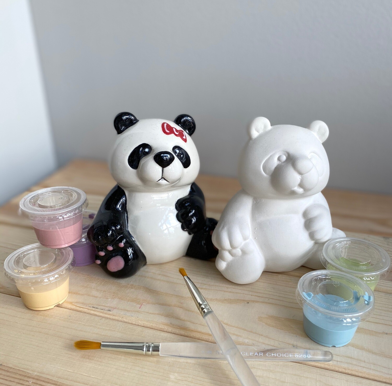 Take Home Panda Party Animal with glazes  - Pick up Curbside