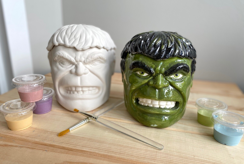 Take Home Hulk Box with glazes  - Pick up Curbside