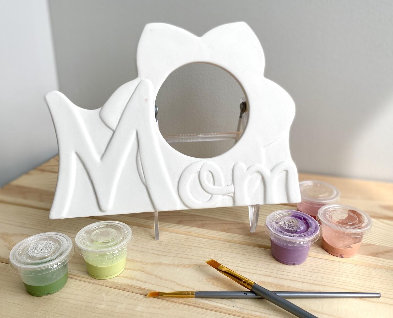 Take Home Mom Frame with Glazes- Pick Up Curbside