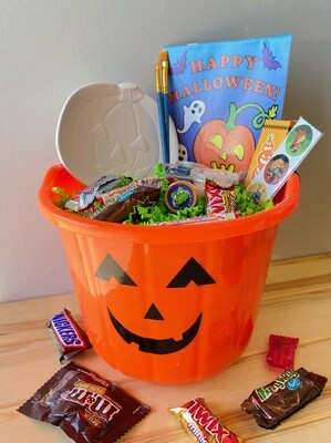 Trick or Treat Bucket - Pick up Curbside