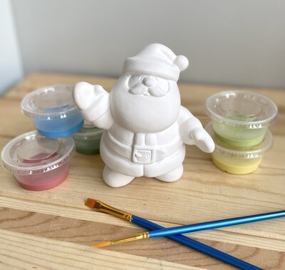 Take Home Santa Party Animal with Glazes- Pick Up Curbside