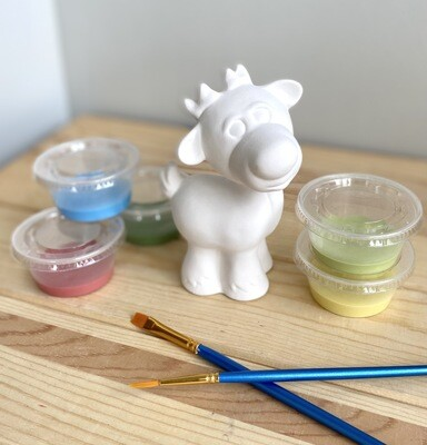 Take Home Reindeer Party Animal with Glazes- Pick Up Curbside