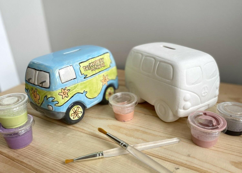 Hippie Van Bank Camper Love Bus