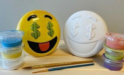 Seeing Dollars Emoji Bank