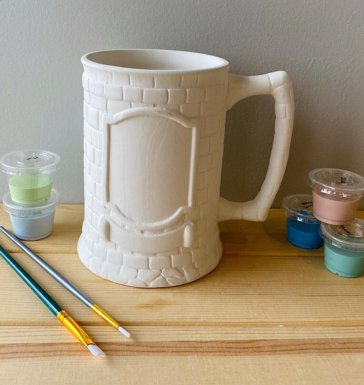 Crested Stein Mug