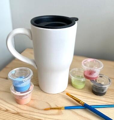 Travel Mug / Commuter Mug with Lid