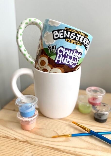 Pint Ice Cream Mug