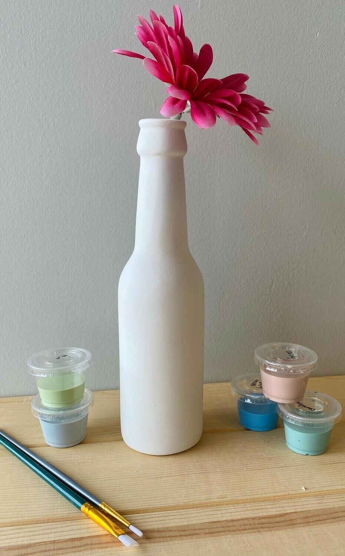 Beer Bottle Bud Vase