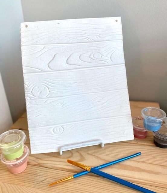 Homegrown plank plaque medium