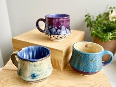 Stoneware Hippy Mug
