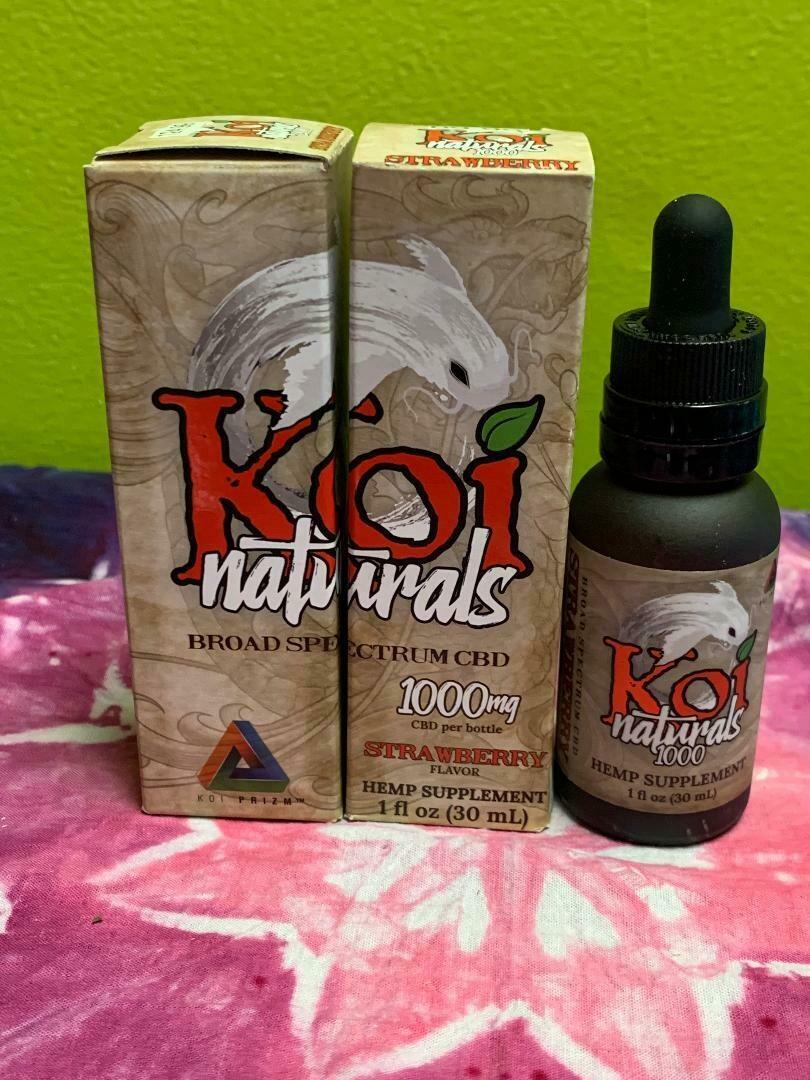 Koi Naturals 1000mg Strawberry